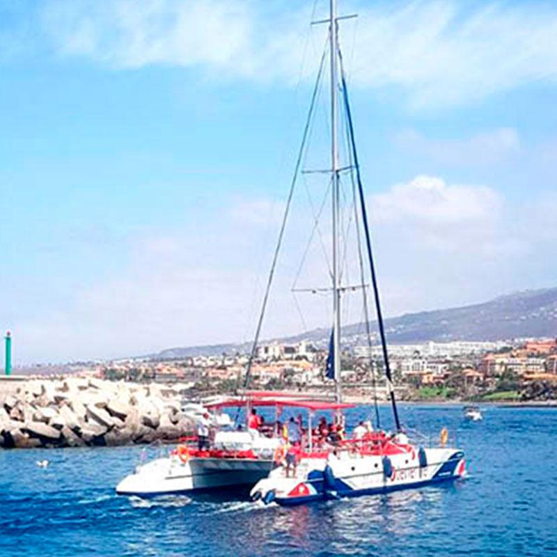 eco catamaran excursion 5h